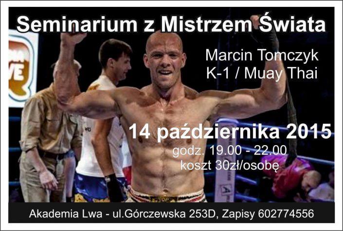 Warsztaty Akademia LwaWarszawa trener osobisty katowice sosnowiec marcin tomczyk sporty walki