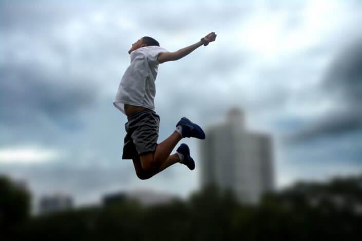 Treningi personalne radość spokój energia