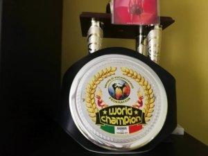 Pas mistrza świata muay thai